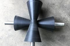 Black V Rollers