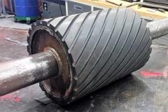 Helical roller