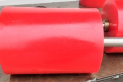 Red Idler rollers