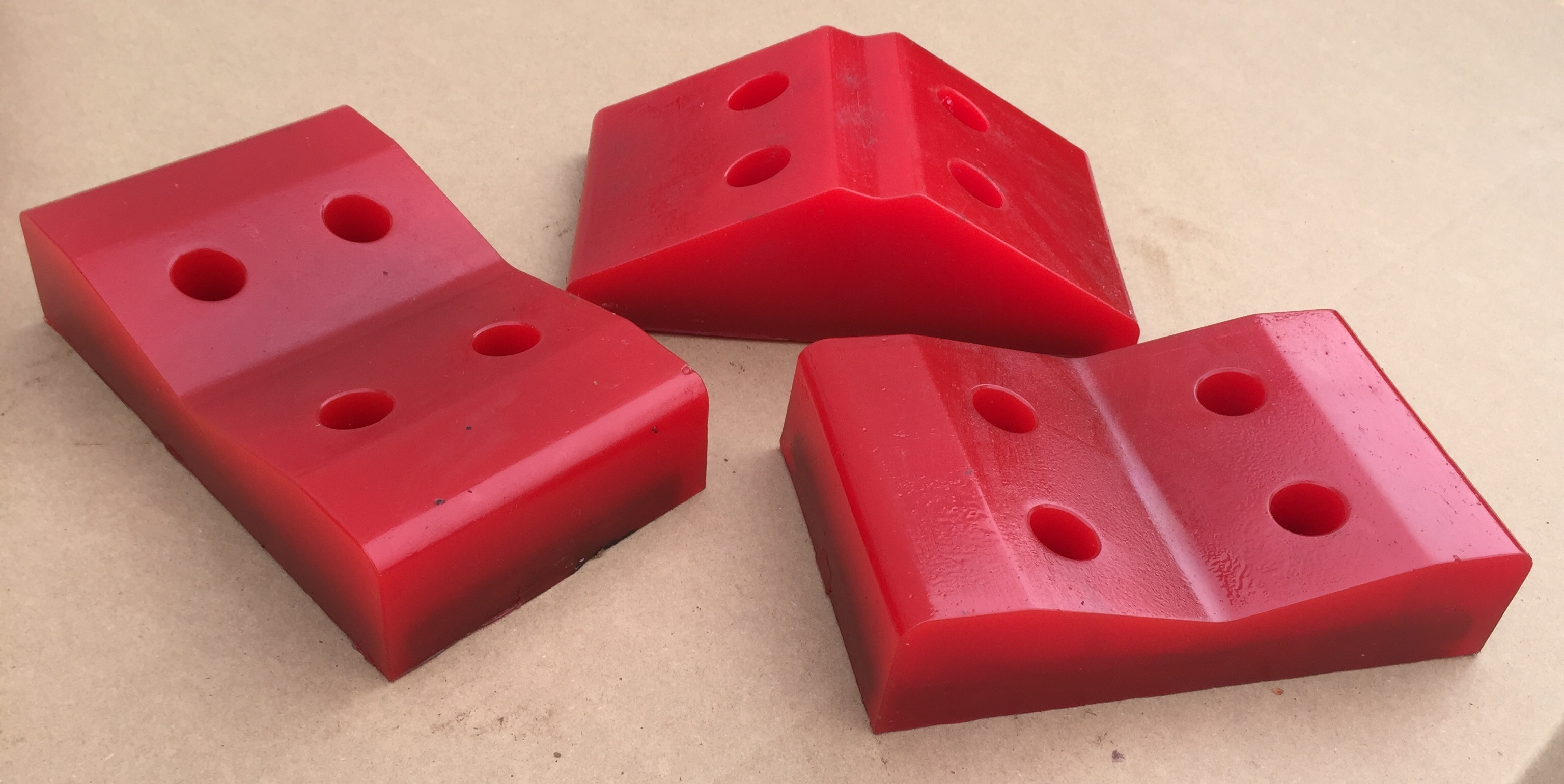 Polyurethane Trac Pads