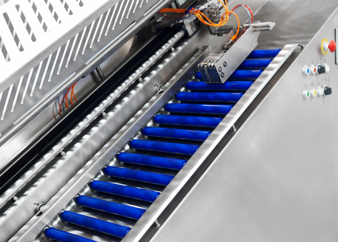 Conveyor System With Polyurethane Rollers